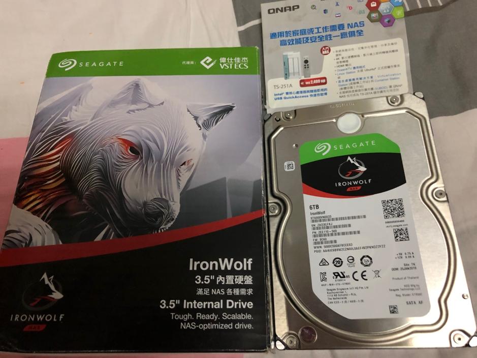 Seagate Ironwolf NAS專用內置硬碟機!
